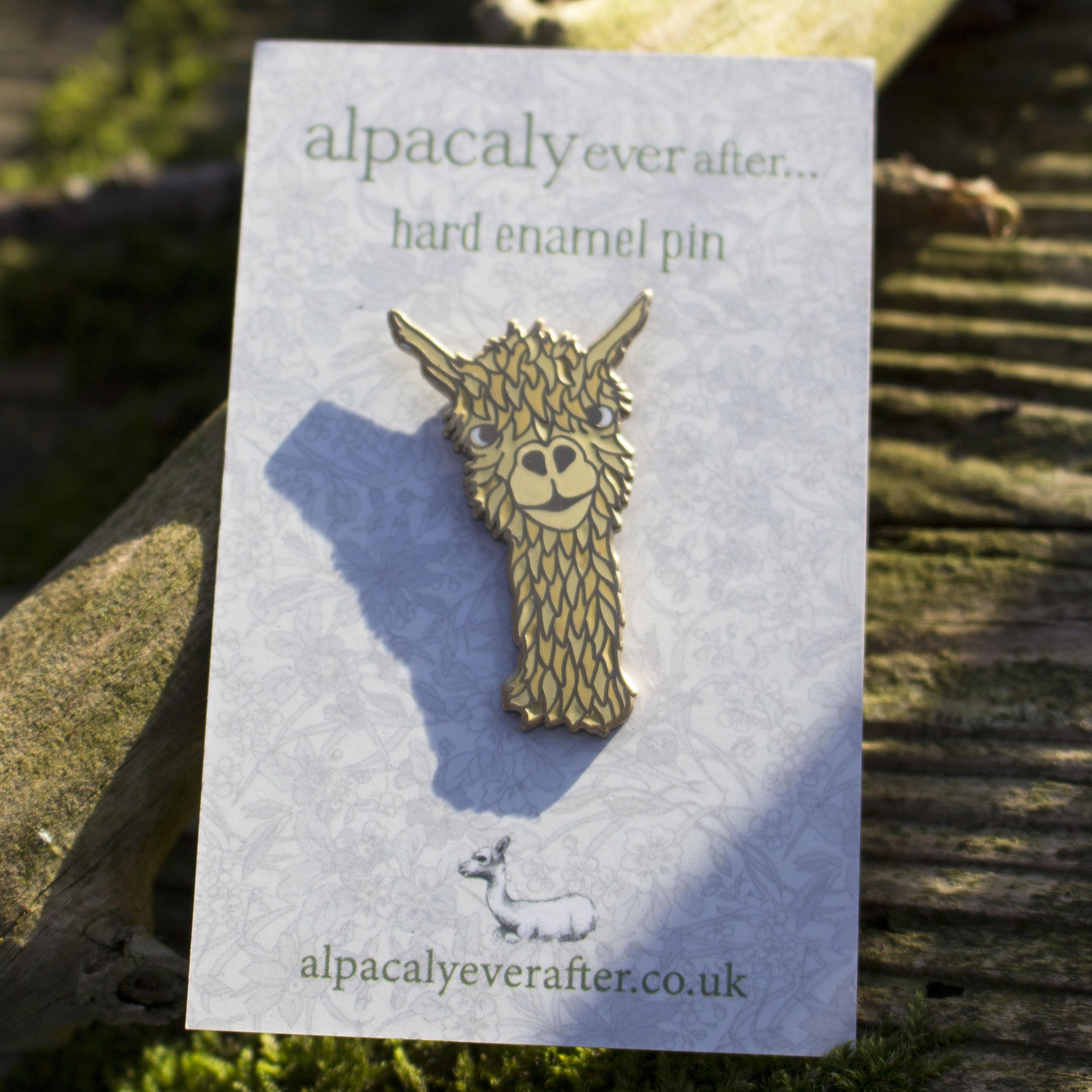 'Dudley' Hard Enamel Pin
