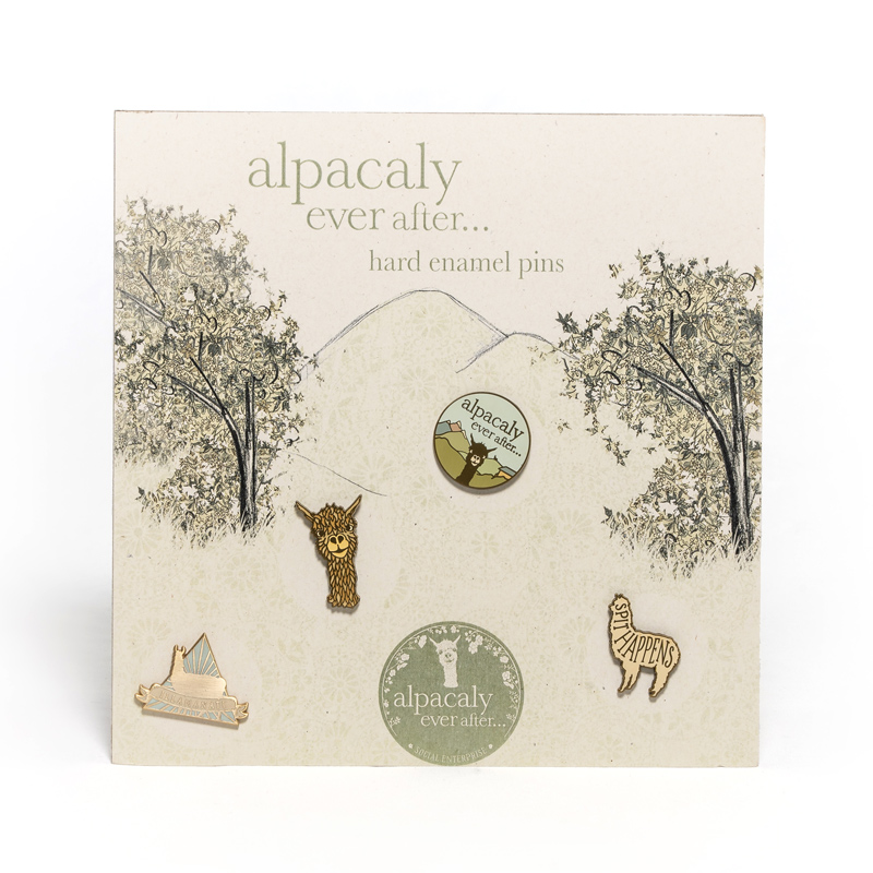 Alpaca Badges & Pins
