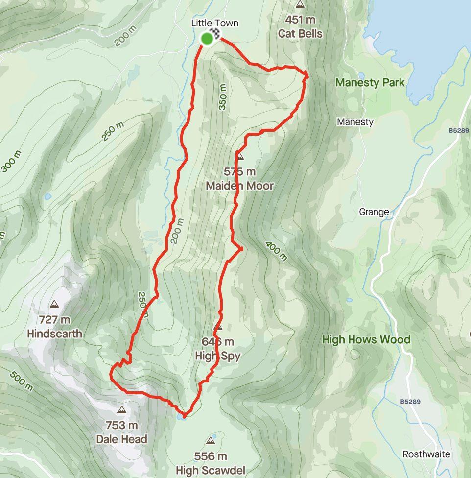Full Day Llama Trek Route 2021